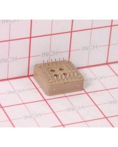 AMP INC - 822473-4 - Connectors, IC sockets. 44 PLCC.