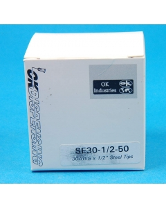 Techon Systems - SE30-1/2-50 - SS blunt dispensing tips, 30AWG. Package of 50.