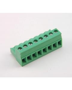 Phoenix Contacts - 1754562 - MSTB2,5/8-ST -  Connector, Terminal Block. 8 Position, 5 mm screw.