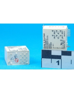 Potter & Brumfield - R10-R0080-2 - R10-R9Z4-S1275 - Relay, power. Input: DC. 4PDT 2A 24VDC.