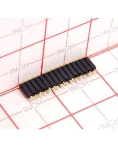 SAMTEC - ESS-115-G-03 - Connector, sip. Female 15 pin.