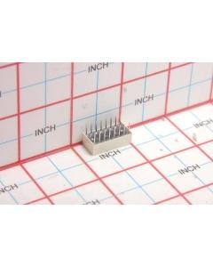 LITEON - LTL2620HR - LED. Light Bar. Rectangular 4 segment, 8 element.