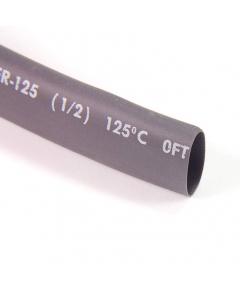 """REMTEK - CFR-125-1/2 - Tubing, heat shrink. 1/2"""", 600V. Black. Package of 10 Ft."""