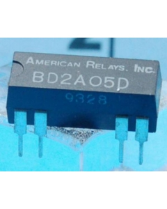 AMERICAN RELAYS - BD2A05D - Relay, reed. Contacts: DPST NO with diode.