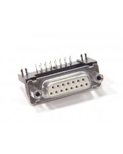 SOURIAU - DAV15S1464GT - Connector, D-Sub. DB15 female.