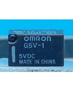 OMRON - G5V-1-5VDC - Relay, control. SPDT 1Amp 5VDC.