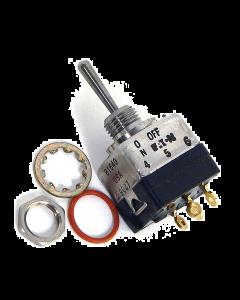 Safran - Cutler-Hammer - Eaton  - 8867K5 - Switch, toggle. DPST On/Center-off.