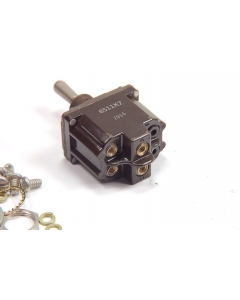 CUTLER-HAMMER - 8511K7 - Switch, toggle. DPST None/Off/ON(Mom).
