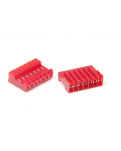 AMP/TYCO ELECTRONICS - 644662-7 - Connector, Rectangular. Header, Female 7 position.