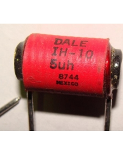 DALE - IH10-05 - 5uH 10Amp Axial Inductor / Coil