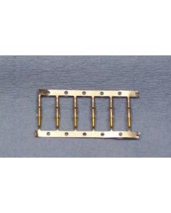 MOLEX - 1854-G1 - Solderless terminals. Male 1.57mm. Package of 100.