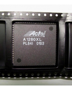 ACTEL - A1280XLPL84I - IC. Integrator Series FPGA. Pulls.