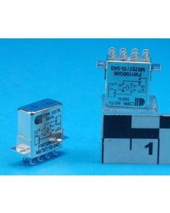 CII - M5757/10-043 - Relay, DC. DPDT 26VDC 675 Ohm.