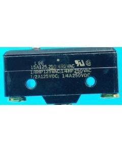 Honeywell/Microswitch - BZ2R55A2S - Switch, micro, P/B. SPDT 15Amp 125VAC.
