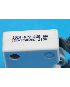 MECHANICAL PRODUCTS - 1610-072-060 6A - Circuit breaker. 6Amp 125/250VAC.
