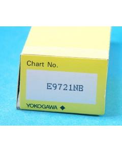 Yokogawa Electric Works (YEW) - E9721NB - Folding chart paper.