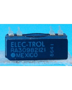 ELECTROL - RA30982121 - Relay, reed. Coil: 12VDC 500 Ohm.