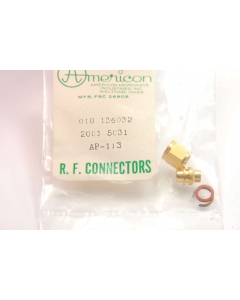 AMERICAN MICROWAVE - AP113 - Connector, RF. Housing sub-assembly.