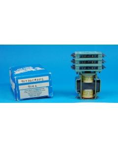 T-BAR - 907-36C48FS - 48VDC 36PDT LATCHING RELAY