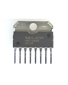 NEC Corporation - UPC1242H - IC, audio. 7 Watt AF power amplifier.