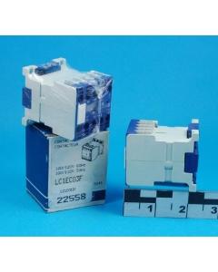 TELEMECANIQUE - LC1EC03F - Relay, AC. Coil: 100-120VAC.