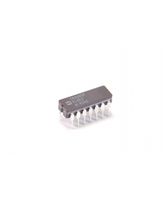 Harris Corp - CA3045F - IC. Transistor array, NPN.