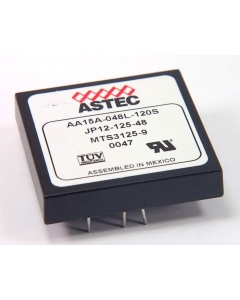 ASTEC - AA15A-048L-120S - 12V 1.25A OUT 48V IN