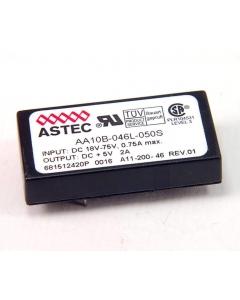 ASTEC - AA10B-046L-050S - DC/DC Converter. Out: 2Amp 5VDC.