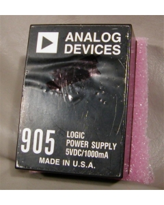 Analog Devices Inc - AD905 - Power Supply. 5VDC 1Amp.