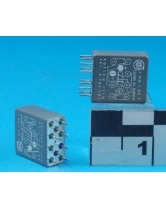 SIGMA - 32JD1200GD-SIL - Relay, DC. Coil: 24-28VDC 1200 Ohm x 2.
