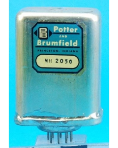 Potter & Brumfield - MH2050 - Relay, power. Contacts: 3PST NO.