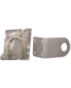 Motorola - MNT62312B1 - Hardware, Post Mount Bracket with Two U-Bolts, Lock Washers and Nuts.