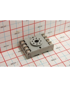 EAGLE SIGNAL - SR2P-06 - Relay socket, SMD 10Amp, din rail.