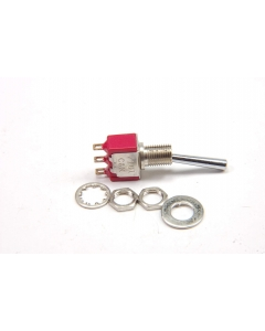 C & K Components - 7101L1H3ZQE - Switch, toggle. SPDT 5A 120V.