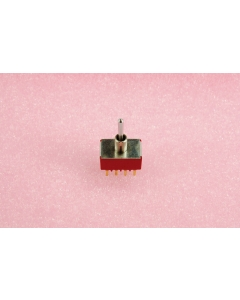 C & K Components - 7401SY9CBE - Switch, toggle. 4PDT 5Amp 120VAC.