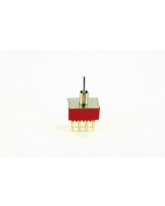 C & K Components - 7401SYW3BE - Switch, toggle. 4PDT 5Amp 120VAC.