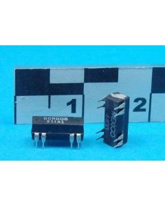 Crouzet/Schneider Elect - 831A-1 - Relay, reed. SPST NO 0.5Amp 5V.
