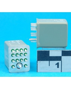 MAGNECRAFT/S&D - 782XDXH21-24A - Relay, AC. 4PDT 5Amp 24VAC.