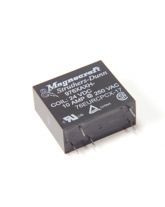 MAGNECRAFT/S&D - 976XAXH-24DC - Relay, control. Input: DC. Contacts: SPDT.