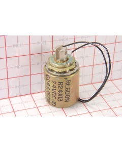 MAGNET SCHULTZ OF AMERICA - S-0-6244 - Solenoid, DC. Intermittent duty cycle 24VDC pull.