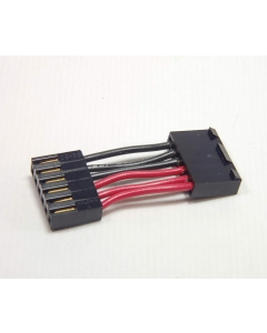 MOLEX - CL610790 - 6 PIN JUMPER