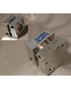 """BIMBA  Flat 1 - FS-090.125-1 - Pneumatic Cylinder 1.5"""" Square, 1/8""""Stroke"""