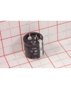PANASONIC/MATSUSHITA - ECES2WU470J - Capacitor, electrolytic. 47uF 450VDC.