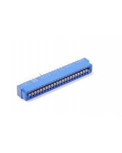 MICRO PLASTICS - MPS0100-22DS4X9 - Connector, PCB edge. F 22 Pos, 44 Pin.