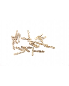 ALATEC PRODUCTS - 86571-6 - Solderless terminals. F crimp. Package of 10.