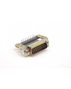 AMP/TYCO ELECTRONICS - 205867-1 - Connector, D-Sub. DB15 male, RA.
