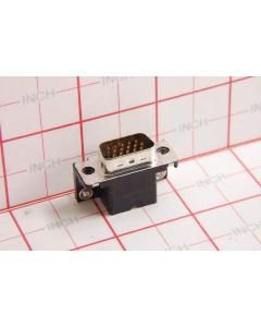 AMP INC - 749767-1 - Connectors, D-Sub. DB15 male. PCB RA.