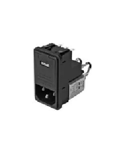 SCHAFFNER - FN-372-6-21 - AC Power Line Entry Module / EMI  RFI Fused Filter, 6 Amp