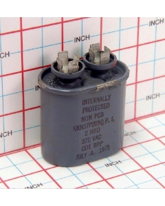 CDE - KKN37P205QP.I - Capacitor, oil-filled. 2uF 370VAC.