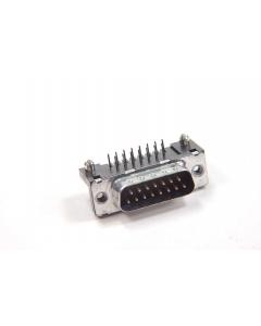 SOURIAU - D15933E4GX00 - DB15P RA PCB with mounting ears